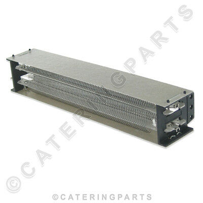HEATING ELEMENT 2kW FOR HOT FOOD CUPBOARD WARMING DRAWERS OR PLINTH HEATER 2000W
