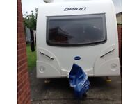 2012bailey Orion 2berth very good condition with extras cris registered