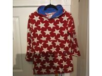 Mini boden towelling beach cover up, age 9-10yr.