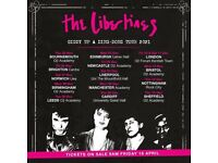 The Libertines tickets (4 avaliable) / Liverpool / 4th December 2021