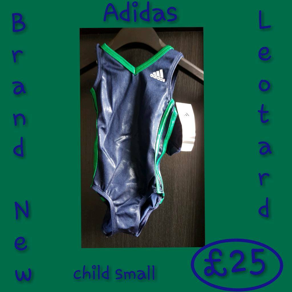 07802500e17 Leotard brand new adidas child small
