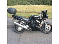 1998 Yamaha fzs600 fazer Black