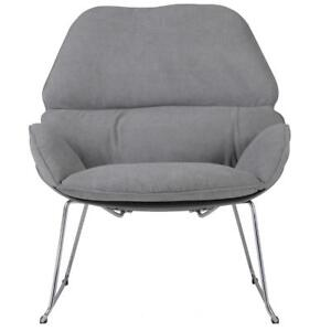 Grey Accent Chair w/ Grey Legs Sale-WO 7720 (BD-2568)