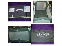 Graco travel cot Very sturdy could use as home cot or storage at relatives Read blw and aee pics £20