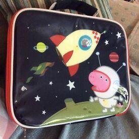 Peppa pig george lunch bag box