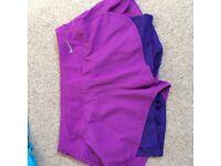 Nike Dri Fit 2 layer running shorts - Women's Medium