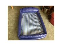 Childs inflatable air bed