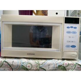 Samsung Freestanding Microwave