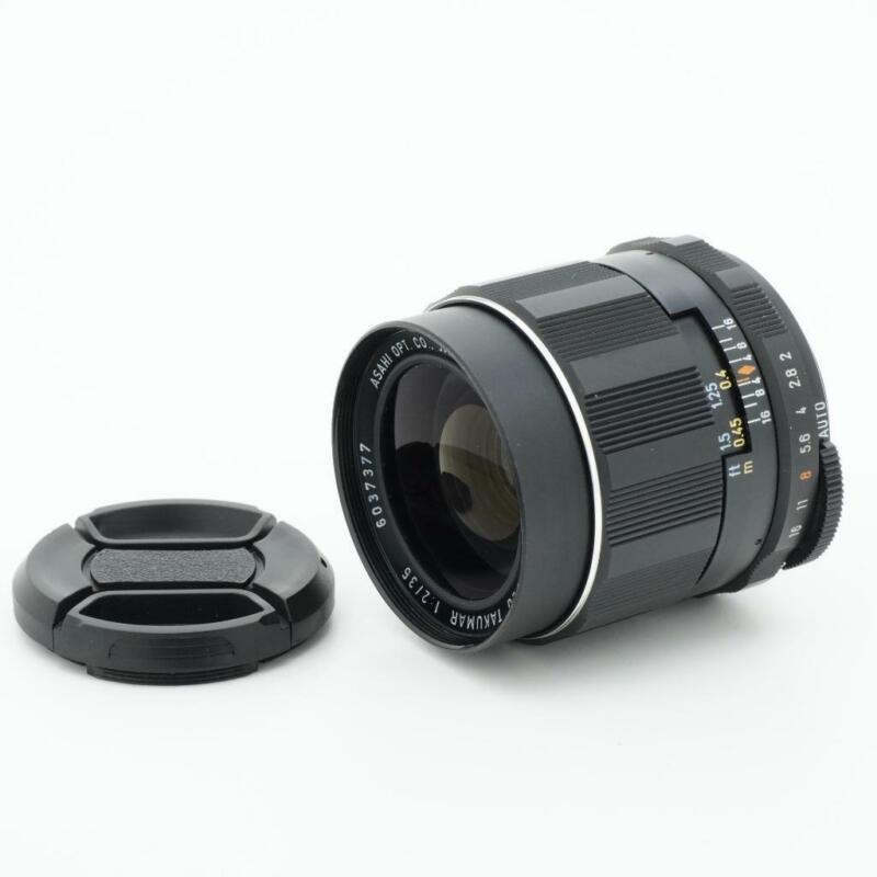 Asahi Pentax Super-Multi-Coated Takumar 35mm F/2 M42 Mount Lens