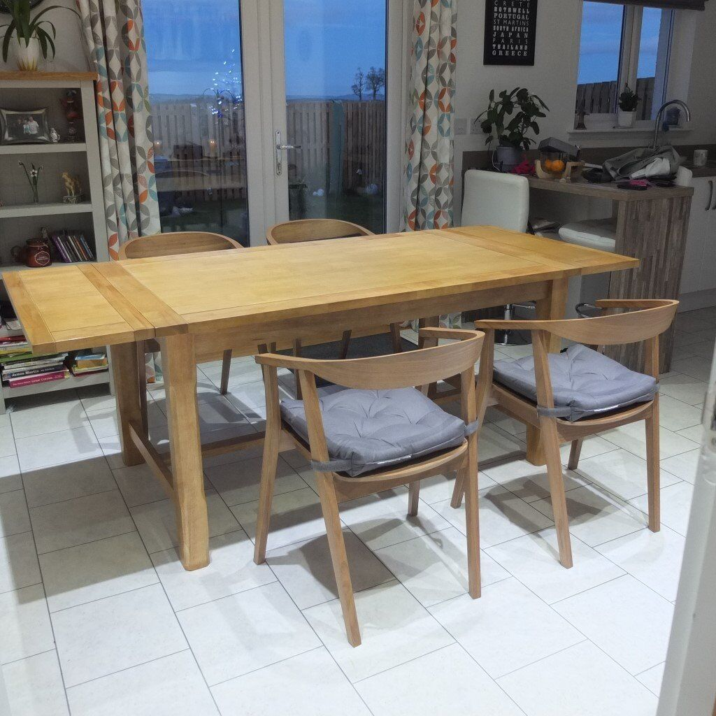 Farmhouse Oak Extending Dining Table quot NEVER USEDquot in  : 86 from www.gumtree.com size 1024 x 1024 jpeg 159kB