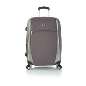 "Leo by Heys - HBX2 26"" Sporty Spinner Luggage - Grey"