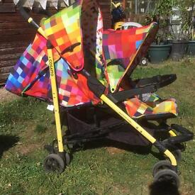 Cosatto tandem/double pushchair