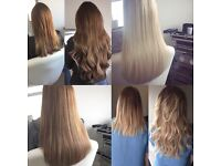 Micro Ring Hair Extensions - Weft & Individuals