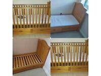 Cot bed from birth to approx 4 Years old