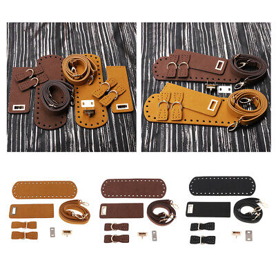 Accessori per set di borse fai-da-te per progetti di borse all'uncinetto tessute