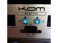 KAM KCD1100 rackmount double CD player
