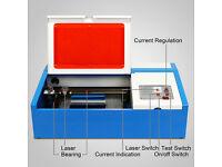 40W CO2 Laser Engraver Cutter machine