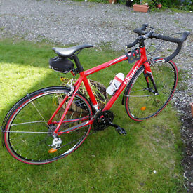 Racing bike, Triban b'twin used only twice, new mudguards and Michelin Dynamic Sports tyres fitted.