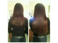 Hair Extensions fitting from £60, Nano rings, Micro rings, Micro weft