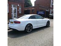 Audi A5 black addition PX golf or bmw auto