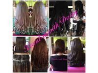100% remy 5AAAAA Human hair 💫 Fusion bonds 💫Nano's 💫 Micro rings