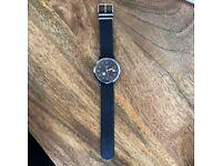 Fossil dark blue watch