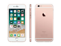 APPLE IPHONE 6S 64GB UNLOCKED ROSE GOLD IMMACULATE CONDITION WITH ORIGINAL BOXED
