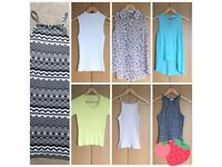 Womens Summer Tops. Mostly River Island. 8-10