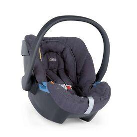 MAMA & PAPA - SOLA2 MTX BLUE DENIM CAR SEAT AND ISOFIX BASE