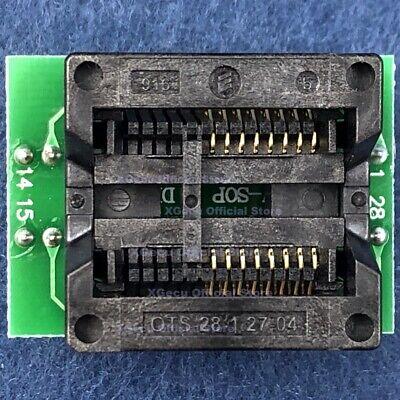 Soic16 Sop16-dip16 Zif Adapter Ic Test Socket Body Width 300mil For Tl866ii Plus