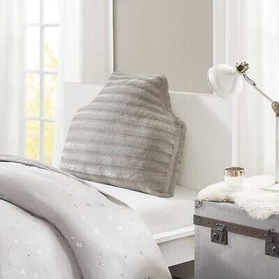 Intelligent Design Duke Oversized Faux Fur Headboard Pillow