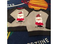 Christmas Jumpers Age 1.5-2 and 2-3 Years