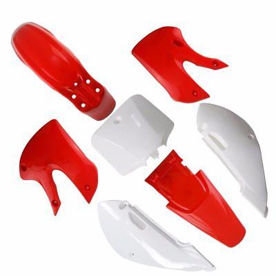 PLASTIC Fairing Kit FOR KAWASAKI KLX 110 KX65 110cc PIT DIRT BIKE DRZ110 red