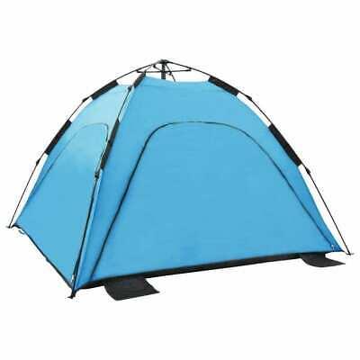 Pop Up Beach Tent Blue Outdoor Car Camping Hiking Sleep Canopy Shelter