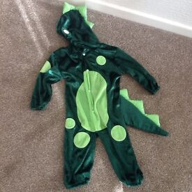 Childs dressing up crocodile costume