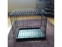 Small dog cage never used
