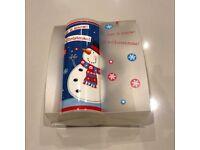 Brand New Christmas Winter Snowman Tall Mug