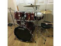 Fully Refurbished Mapex Tornado Complete Drum Kit // Free Local Delivery