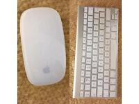 Apple Wireless Bundle Magic Mouse 1 & A1314 Keyboard