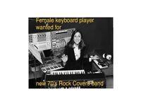 Mature band seek F keyboard player North London