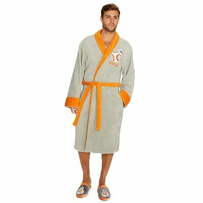 Star Wars BB-8 Droid Dressing Gown Bathrobe - Adult Loungewear One Size Cosplay