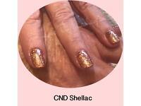 CND Shellac 14 day manicure