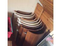 Brand new unused curved kitchen doors