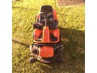 Husqvarna rider lawnmower