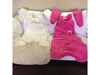 Baby Girl Sleeping Bags – 18-36 Months - Very good condition