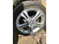 Mercedes A-class 17 inch A180 alloy and tyre