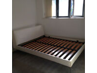 B&B Italia king size bed for sale