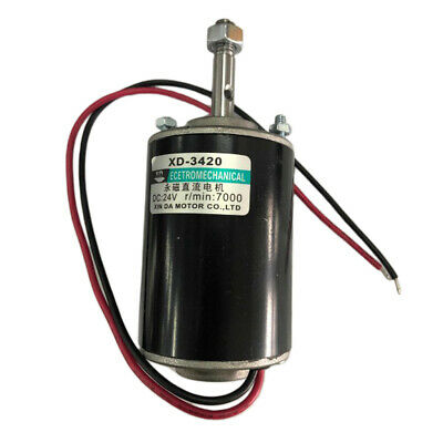 Electric Motor 12v 3000rpm High Speed Cwccw Reversible Permanent Magnet Dc