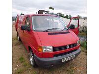 vw ,volkswagen transporter 2.5 TDI van ,year-1999 ,price 1900£