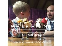 Commis chef needed in Yummy pub! (East London)